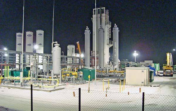 LNG-plant