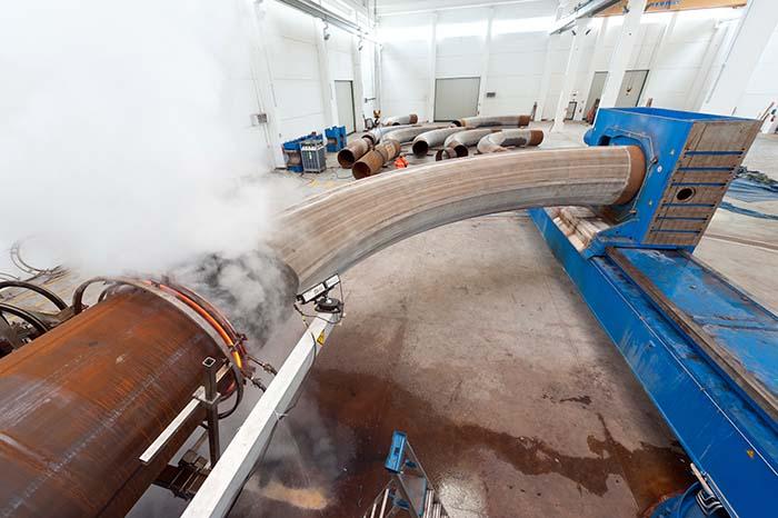 hot-bending